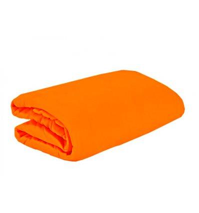 Froté prostěradlo oranžová